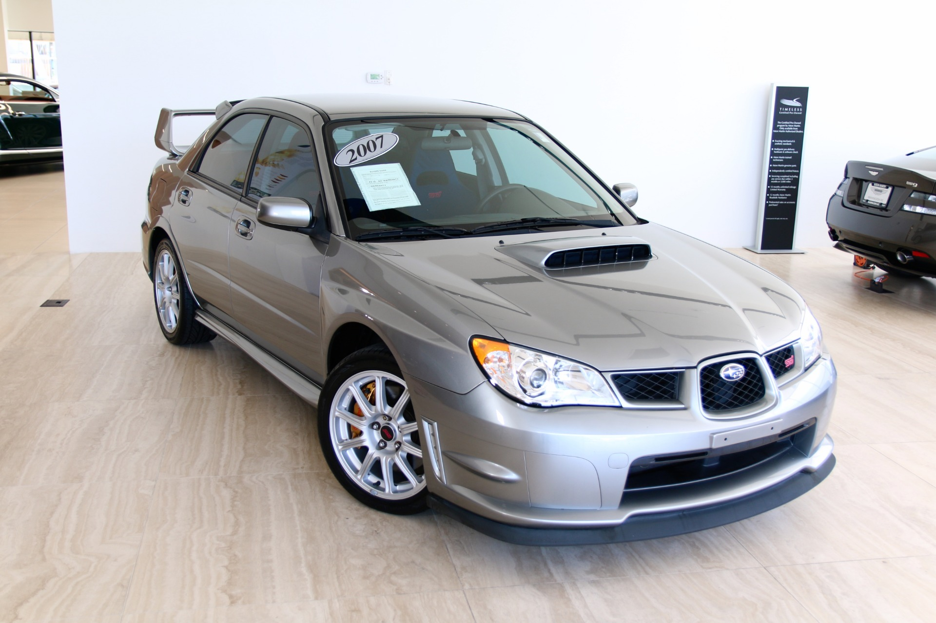 2007 subaru impreza wrx sti stock 7nc016052e for sale near used 2007 subaru impreza wrx sti vienna va vanachro Image collections