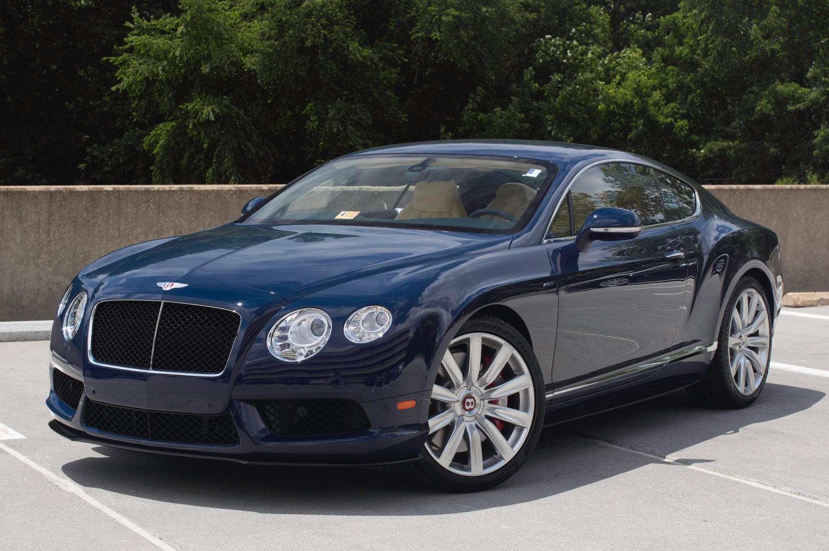 2014 Bentley Continental Gt V8 S Stock 4nc096190 For
