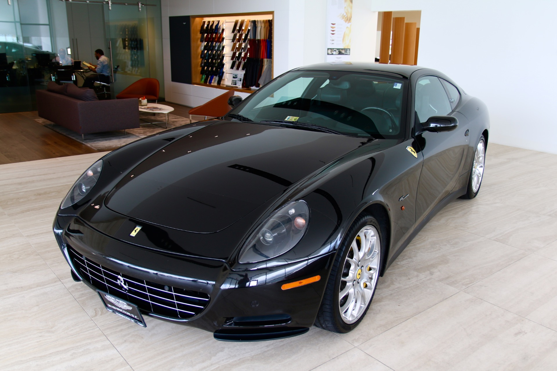 2008 ferrari 612 scaglietti stock 7n064075a for sale. Black Bedroom Furniture Sets. Home Design Ideas