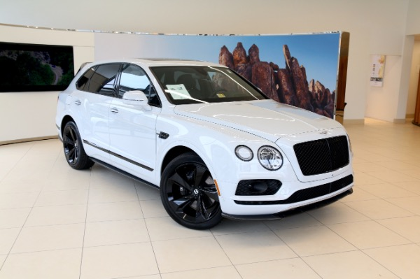 New 2018 Bentley BENTAYGA W12 BLACK EDITION-Vienna, VA
