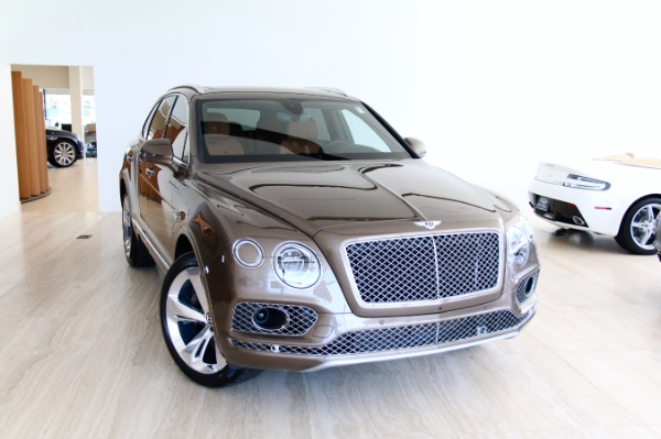 New 2018 Bentley BENTAYGA W12 ONYX-Vienna, VA